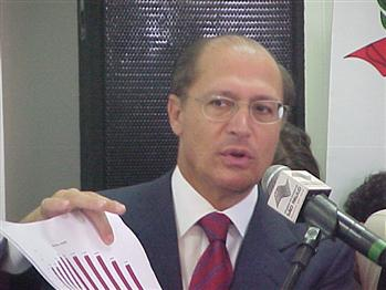 "Alckmin: homicídios apresentaram ""curva impressionante"""