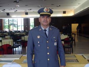 Capitão Elias Profeta Ramos de Araújo, comandante da 1ª Cia. do 2º BPM/M