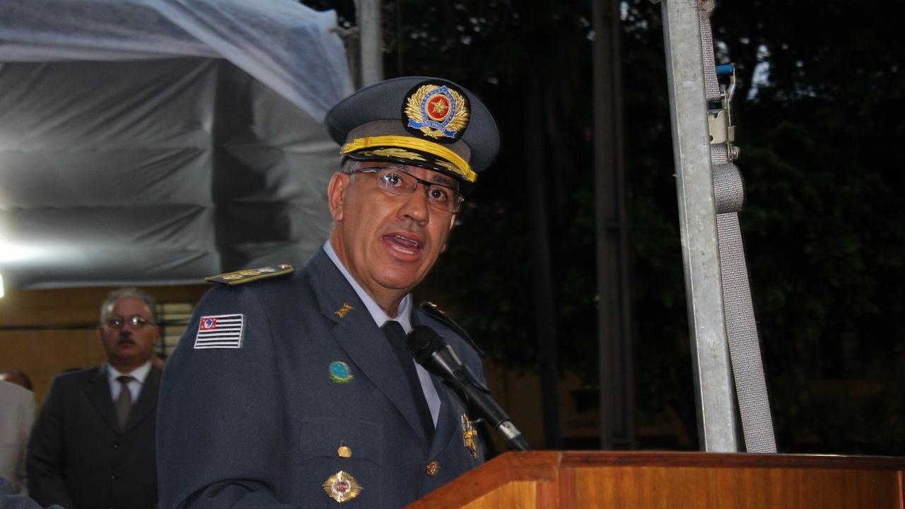 Resultado de imagem para coronel pm marcelo vieira salles assume o comando da pmesp